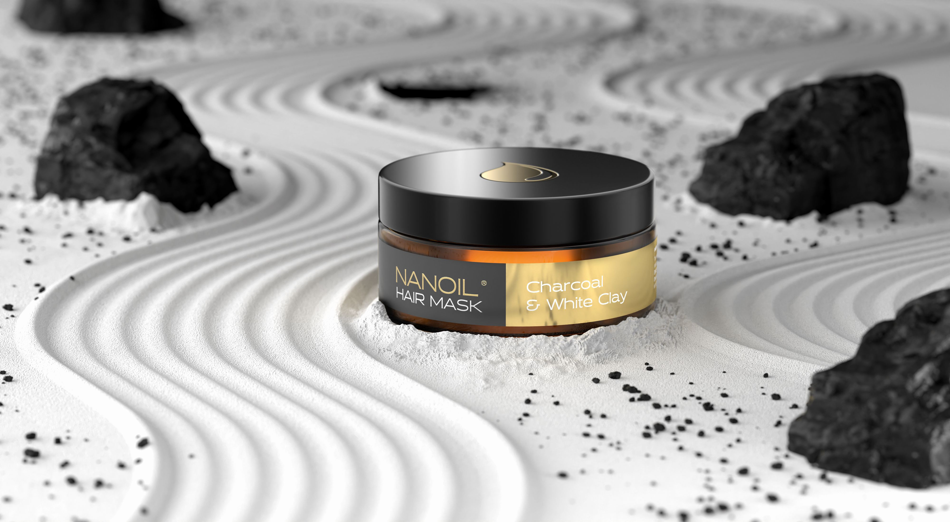 nanoil mit aktivkohle haarmaske gegen fettige haare